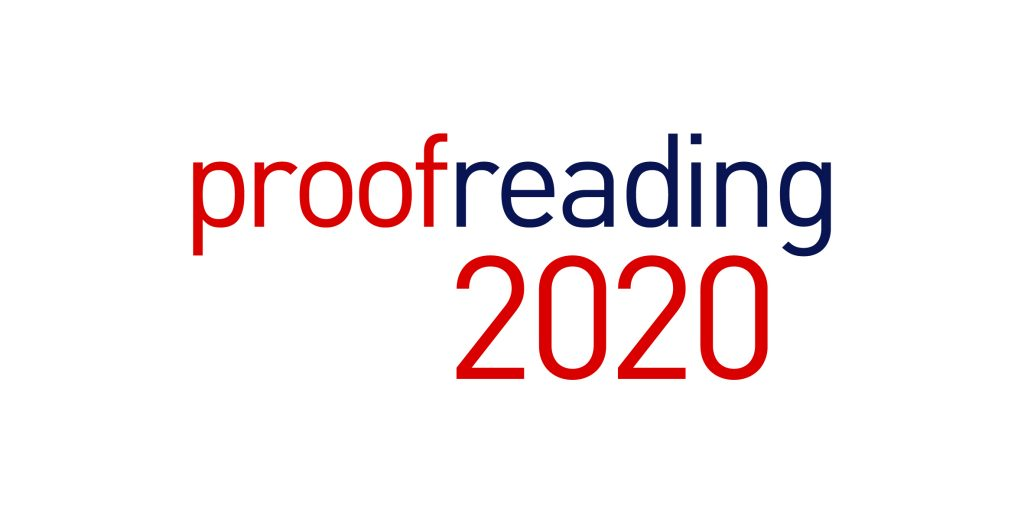 logo for proofreading2020